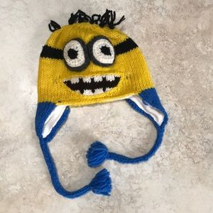 Other - Knitted minion hat